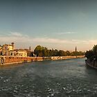 Ponte Vecchio - Beautiful Verona by dyanera
