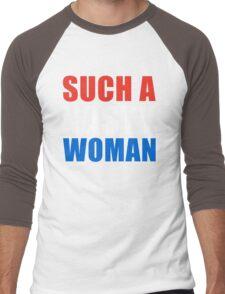 Nasty Woman Men's Baseball ¾ T-Shirt