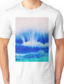 Sea Spray in Turquoise and Teal Unisex T-Shirt