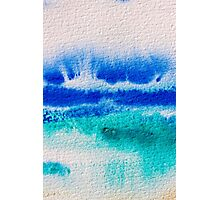 Sea Spray in Turquoise and Teal Photographic Print