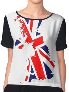 England Chiffon Top