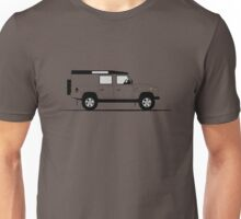 A Graphical Interpretation of the Defender 110 Utility Station Wagon Unisex T-Shirt