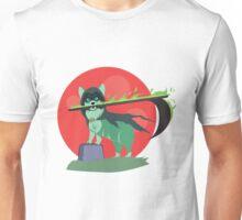 Grim Reaper Puppy Unisex T-Shirt