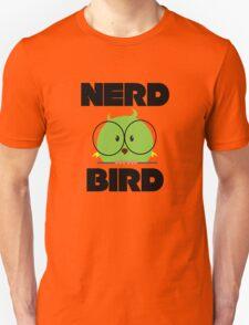 Nerd Bird with glasses Unisex T-Shirt