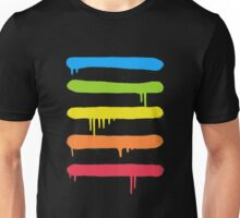 Hip Hop - Trendy Cool Graffiti Tag Lines Unisex T-Shirt