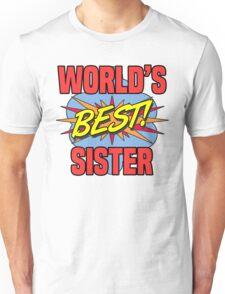 World's Best Sister Unisex T-Shirt