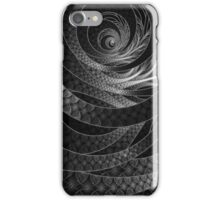Shining Silver Corded Fractal Bangles iPhone Case/Skin
