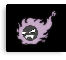 the Gastly Five (& Sweetums): Grumbles Canvas Print