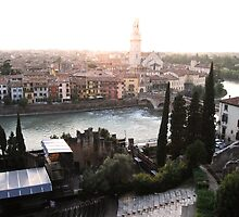 Verona with Roman Theatre by dyanera