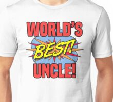 World's Best Uncle Unisex T-Shirt