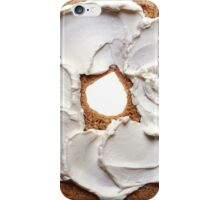 Bagel with Cream Cheese  iPhone Case/Skin