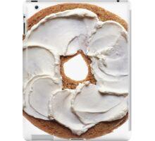 Bagel with Cream Cheese  iPad Case/Skin
