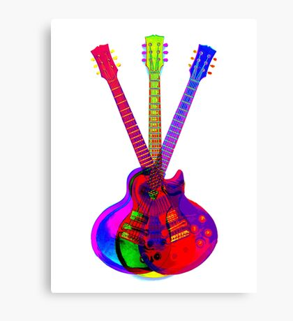 The Art of Rock 'n' Roll Canvas Print