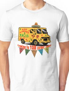 #BADHOMBRES Bad Hombres Taco Truck Unisex T-Shirt