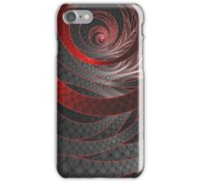 Corded Crimson Scales in the Eye of the Vampire iPhone Case/Skin