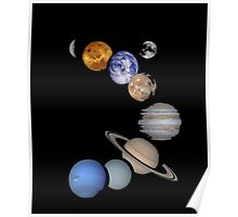 Solar System Planets Kids' T-Shirt by Spreadshirt™ Poster