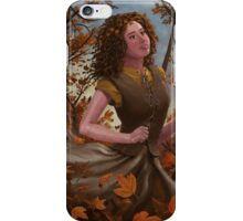 Spirit of Autumn Woman iPhone Case/Skin