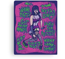 Frankenhooker Canvas Print