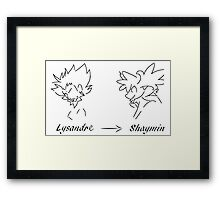 Two Prize Cards Framed Print