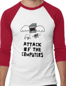 Attack of the Computers tee Men's Baseball ¾ T-Shirt