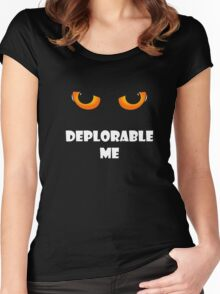Basket of Deplorables Deplorable Me Funny Political T Shirt Women's Fitted Scoop T-Shirt