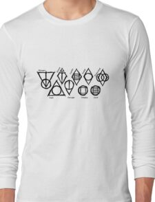 Skyrim Shadowmarks Long Sleeve T-Shirt