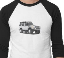 LandCruiser Wagon Men's Baseball ¾ T-Shirt