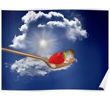 """(◡‿◡✿) (◕‿◕✿) Strawberry Delight """"Life Is Sweet"""" (◡‿◡✿) (◕‿◕✿) Poster"""