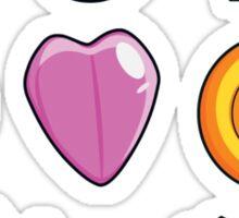 Pokemon Gen 1 Gym Badges Sticker