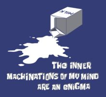 The inner machinations of my mind are an enigma by Lyubomir Gizdov