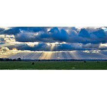 Sunbeams over Sheppey Photographic Print