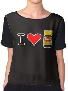I Love Vegemite Chiffon Top