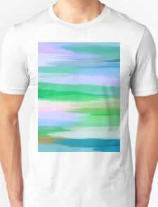 Pastel Colored Abstract Art Unisex T-Shirt