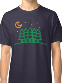 night forest Classic T-Shirt