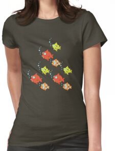 Down to the sea...fishes! Womens Fitted T-Shirt