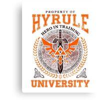Hyrule University Canvas Print