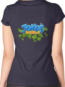 Joko's World Women's Fitted Scoop T-Shirt
