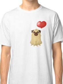 Pug love Classic T-Shirt