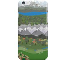 The Hobbit Journey Poster iPhone Case/Skin