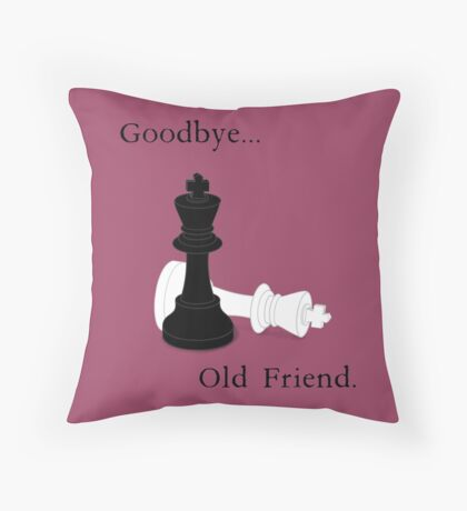 Goodbye, Old Friend. Throw Pillow