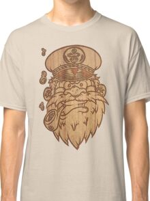 Captain Salty on Wood Classic T-Shirt