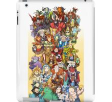 Dota 2 - Characters and their couriers (Pets) iPad Case/Skin