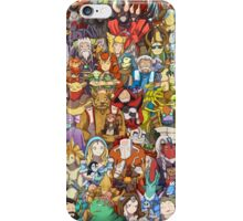 Dota 2 - Characters and their couriers (Pets) iPhone Case/Skin