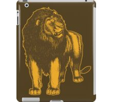 Lone Lion by Cheerful Madness!! iPad Case/Skin
