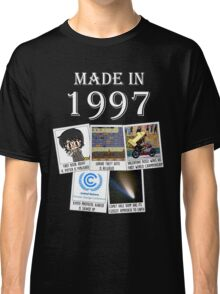 Made in 1997, main historical events Classic T-Shirt