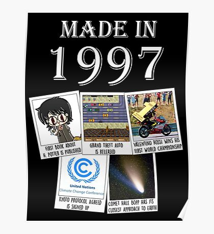 Made in 1997, main historical events Poster
