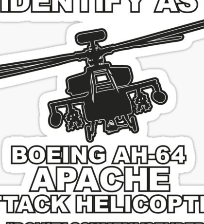 Apache Gender Sticker