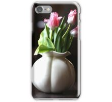 Beauty Tulips in a Vase iPhone Case/Skin