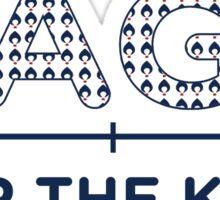 ZAGS FOR KIDS LINE Sticker
