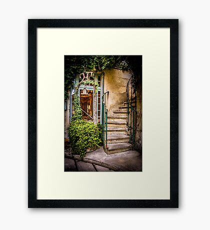 Stairway to ? Framed Print